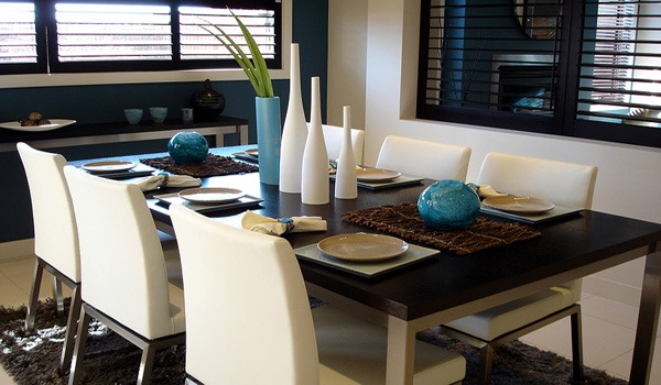 Modern Dining Rooms 2012 decorating a contemporary dining room | greg flaherty